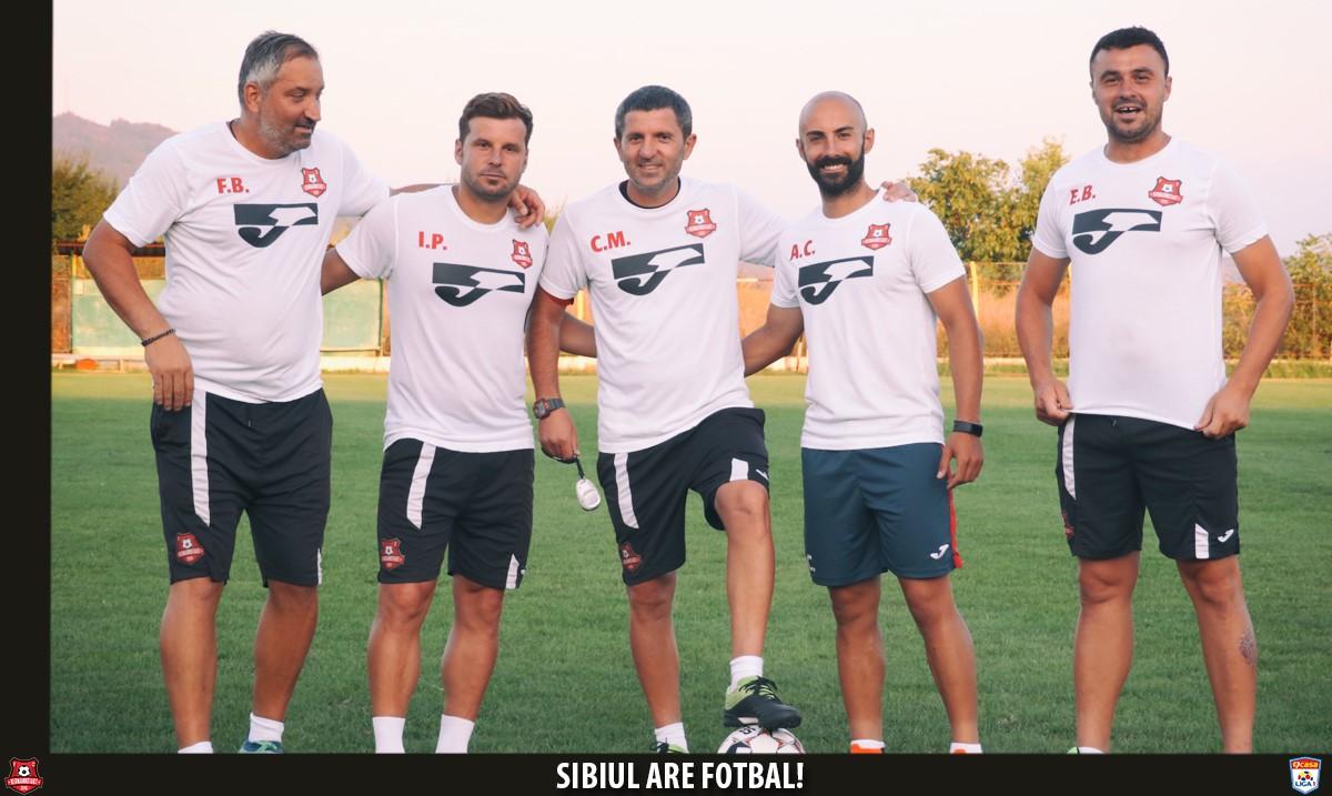 Meci amical - FC Hermannstadt contra suporterilor sibieni