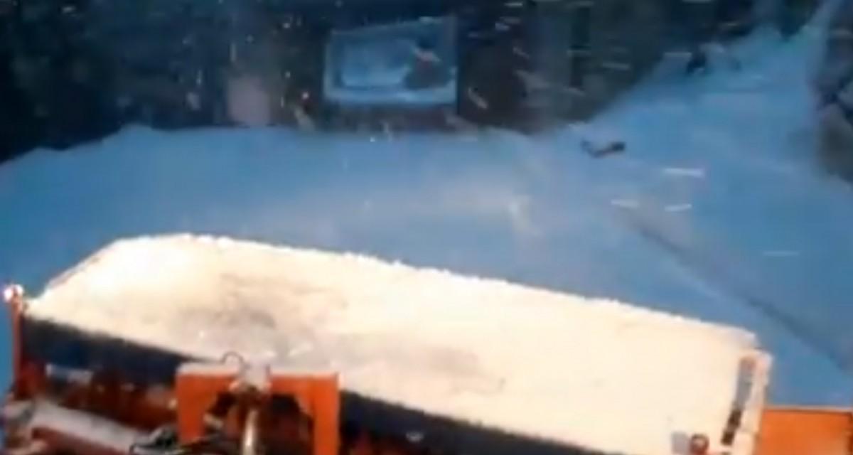Video.Ninge la munte, cod galben valabil până la ora 18