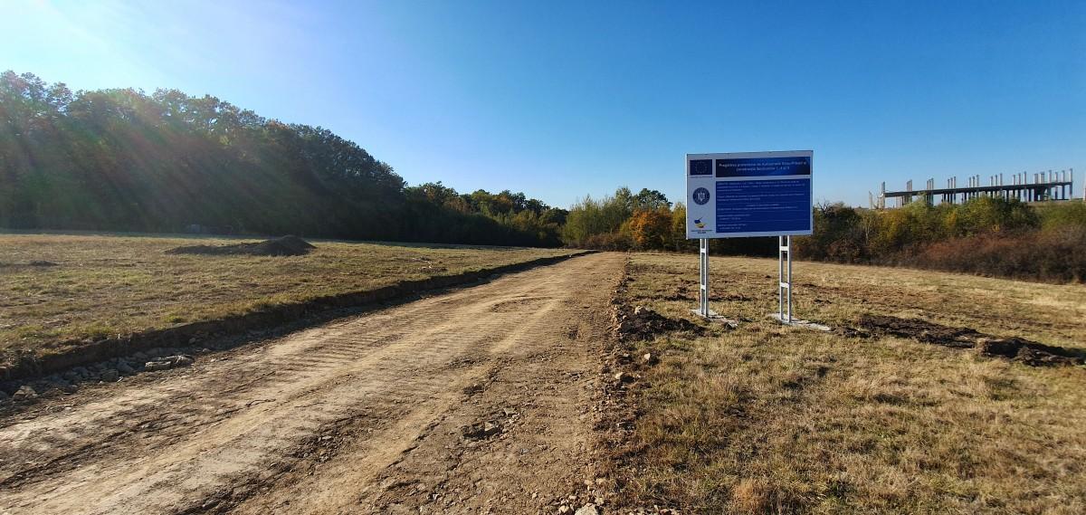 Mai țineți minte șantierul autostrăzii Șelimbăr - Boița? Azi a primit autorizație de construire