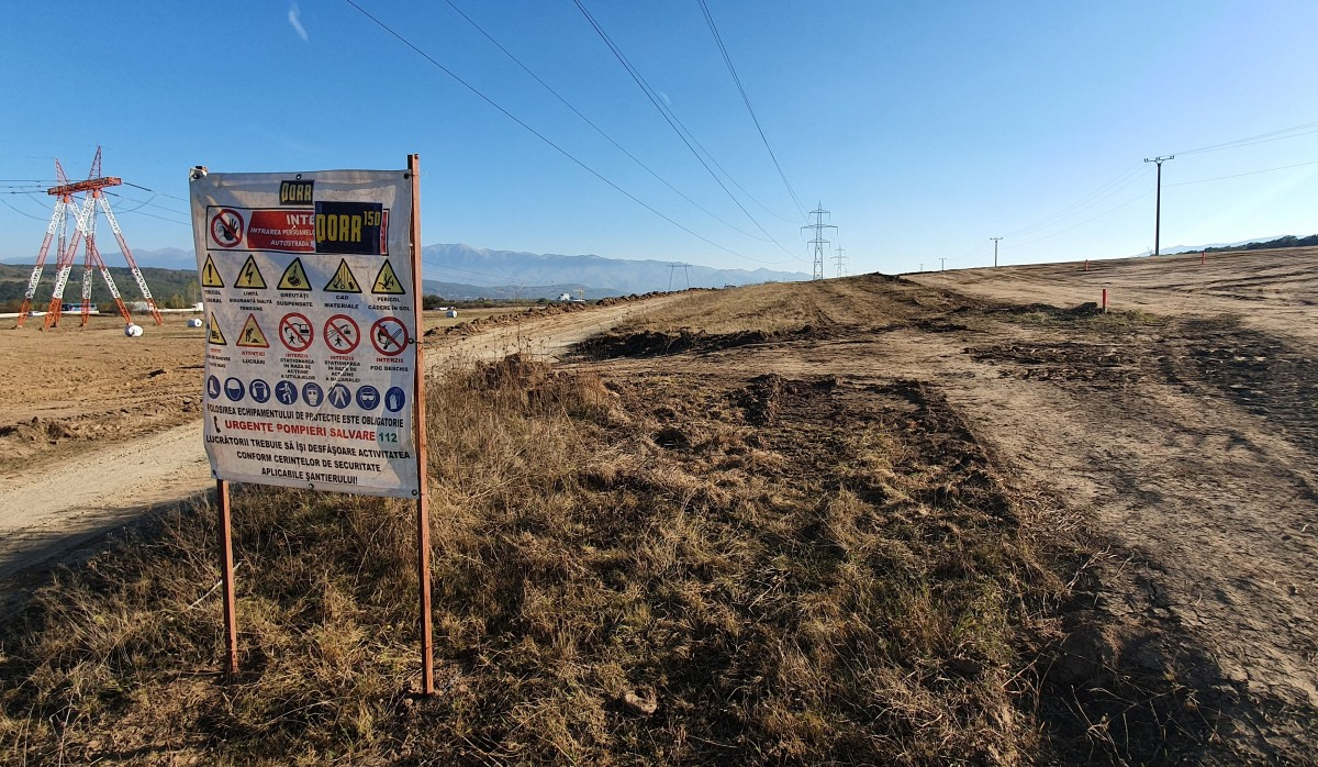 Foto și video. Au început lucrările la autostrada Sibiu – Pitești