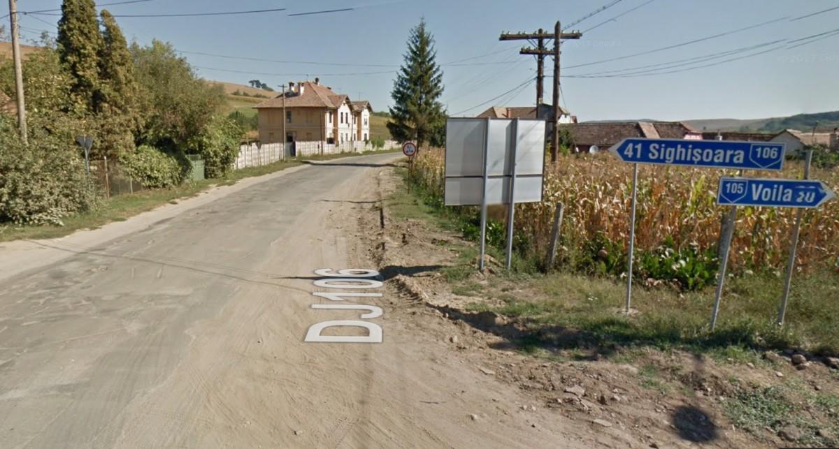 Reabilitarea drumului județean între Agnita și Sighișoara a fost atribuită pentru 80.000.000 de lei