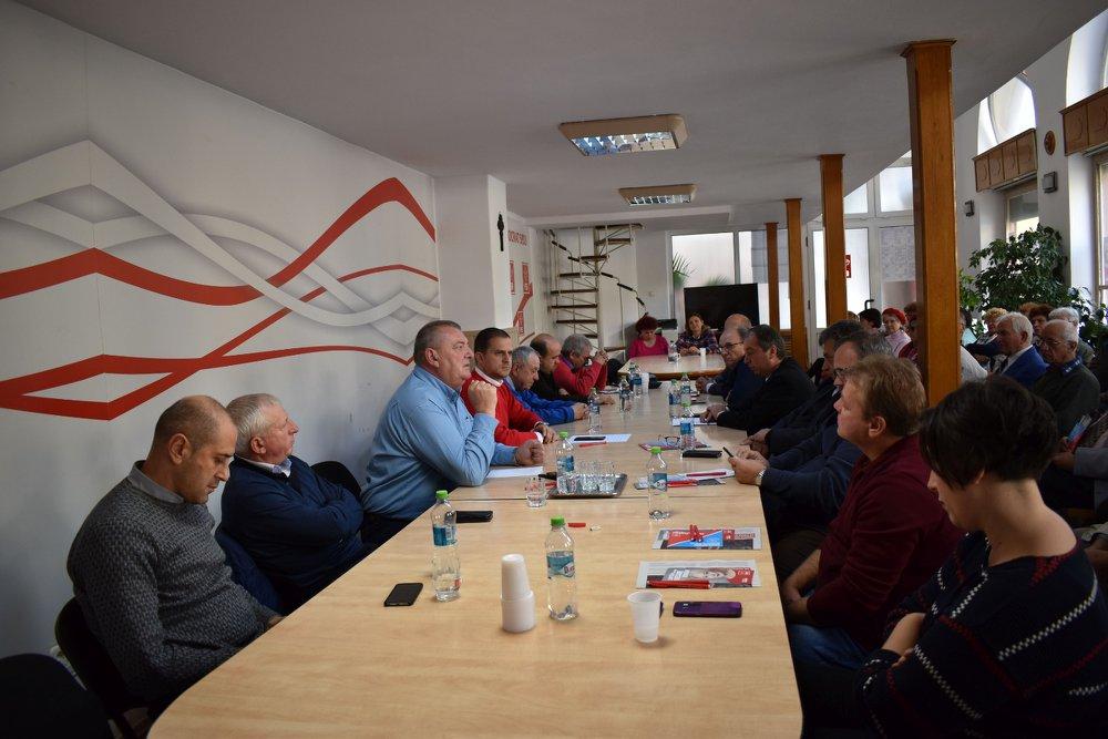 PSD Sibiu s-a întâlnit cu sindicatele