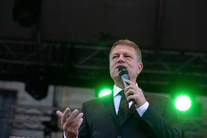 Klaus Iohannis: Este cea mai categorică victorie obținută vreodată împotriva PSD
