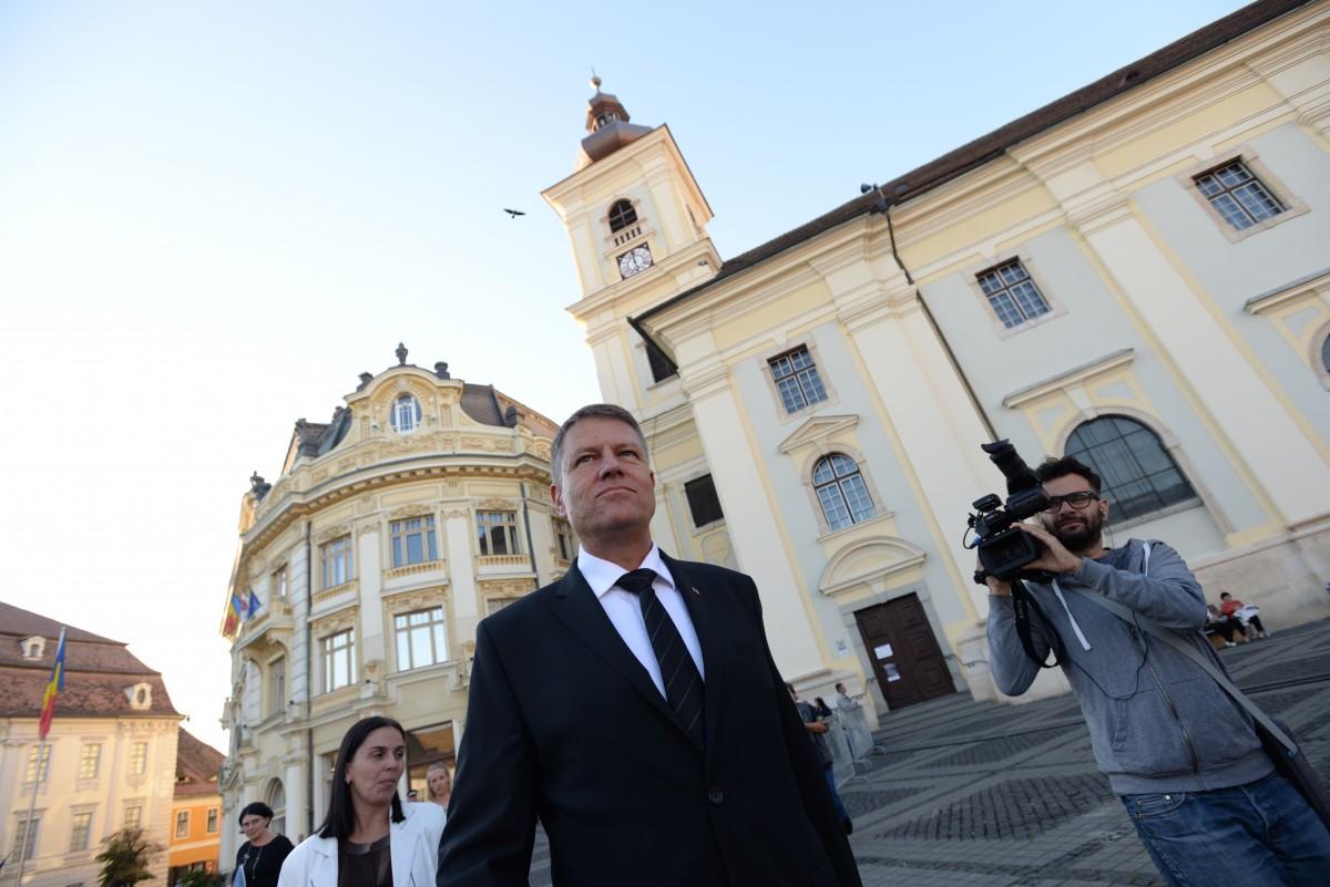 Toate voturile au fost numărate: Iohannis a câștigat la Sibiu cu procente ca în vremea Primăriei