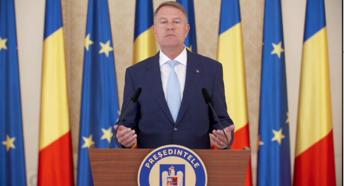 """VIDEO Iohannis, după prelungirea stării de urgență cu încă 30 de zile: """"nu păcăliți instituțiile statului, vă păcăliți pe voi"""""""