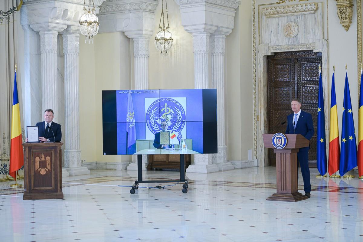 Iohannis: După ce depășim această criză, este nevoie să regândim sistemulde sănătate românesc