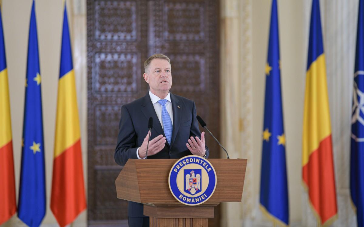 Președintele Iohannis: Am convenit să folosim armata pentru a gestiona mai bine situațiile din teren