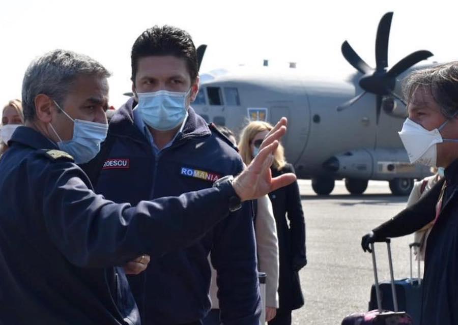 VIDEO Printre românii plecați să ajute Italia împotriva epidemieiCovid-19 se află și un sibian