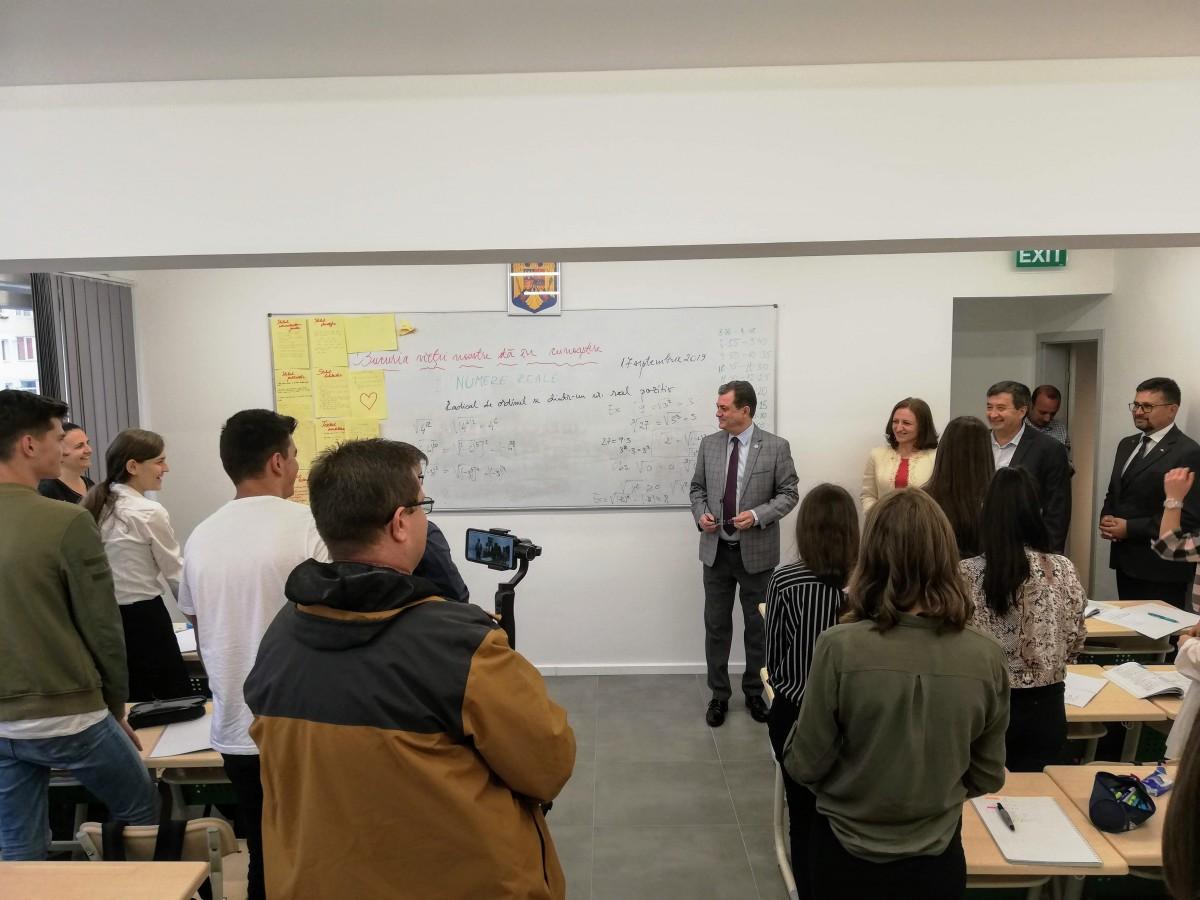 Aleșii Sibiului, despre cea mai nouă investiție într-o școală: Ce se întâmplă în orașul nostru?