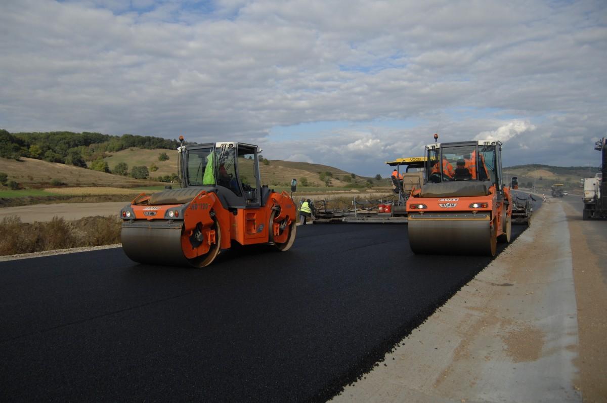 AutostradaOrăștie-Sibiu închisă parțial astăzi pentru lucrări