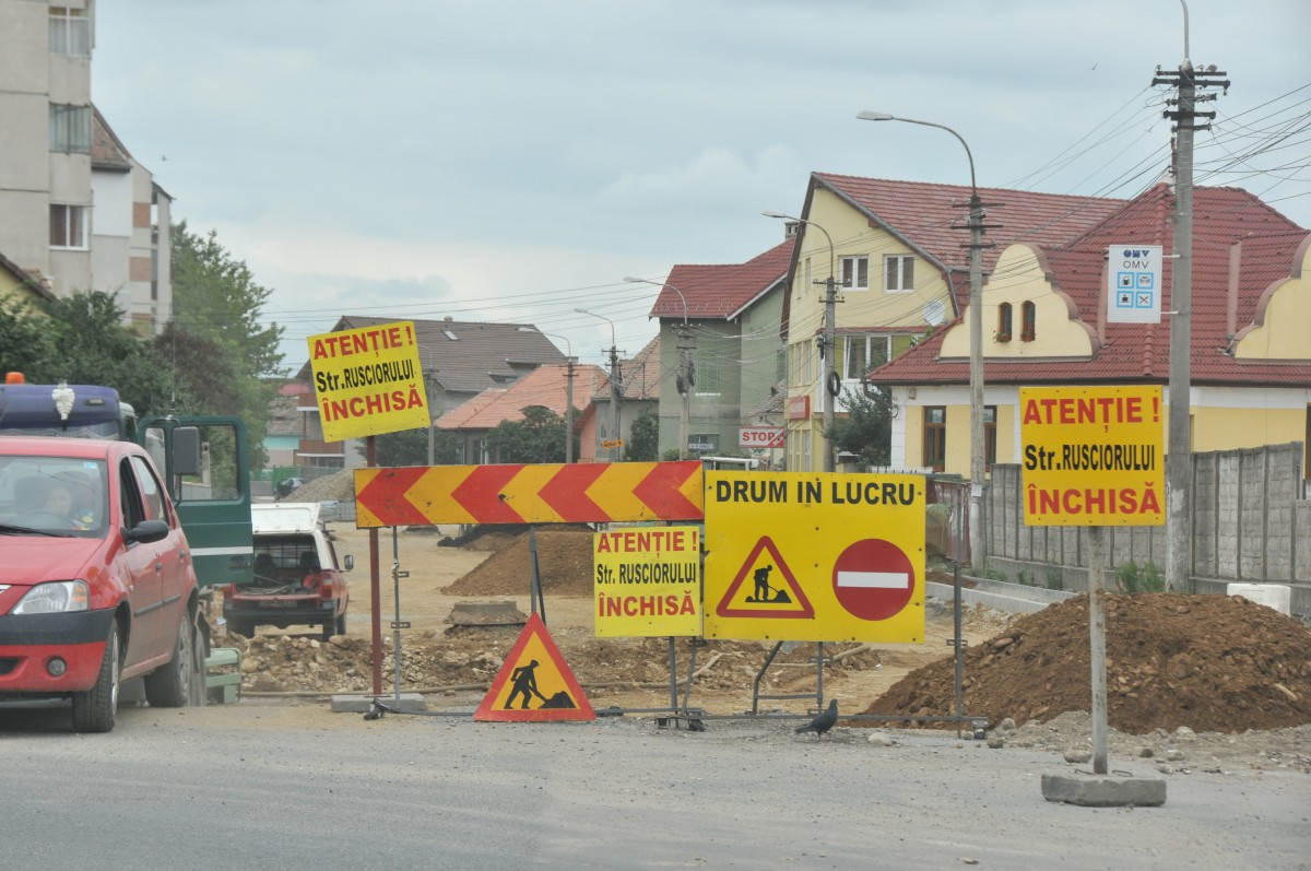 Primăria Sibiu a contractat modernizarea a încă 7 străzi de pământ din cartierele Tilișca, Lazaret, Țiglari și zona Obor