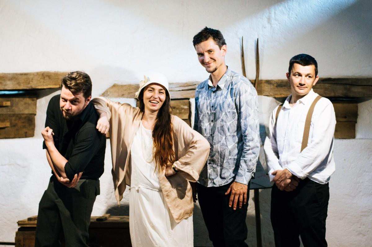 """Luiza Zan & Jazzpar Trio concertează în """"Chimnița"""", noul spațiu al filarmonicii"""