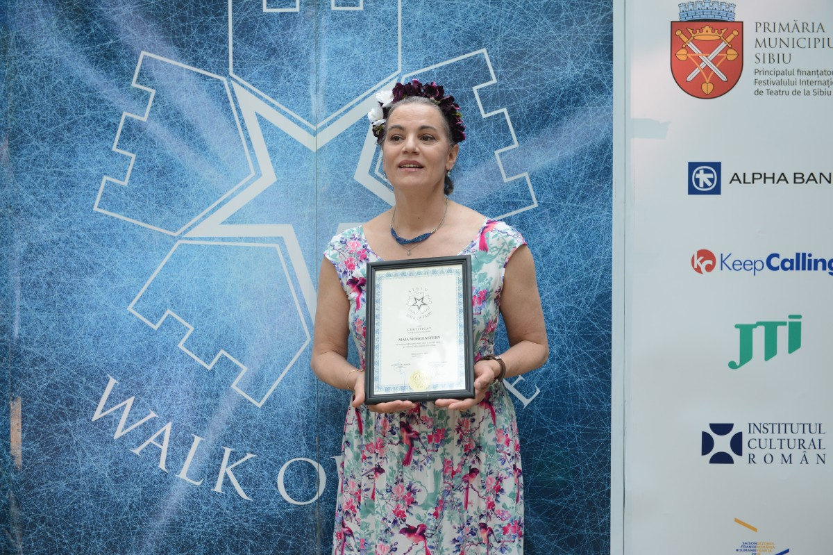 Maia Morgenstern vine în Sibiu în cadrul conferințelor FITS