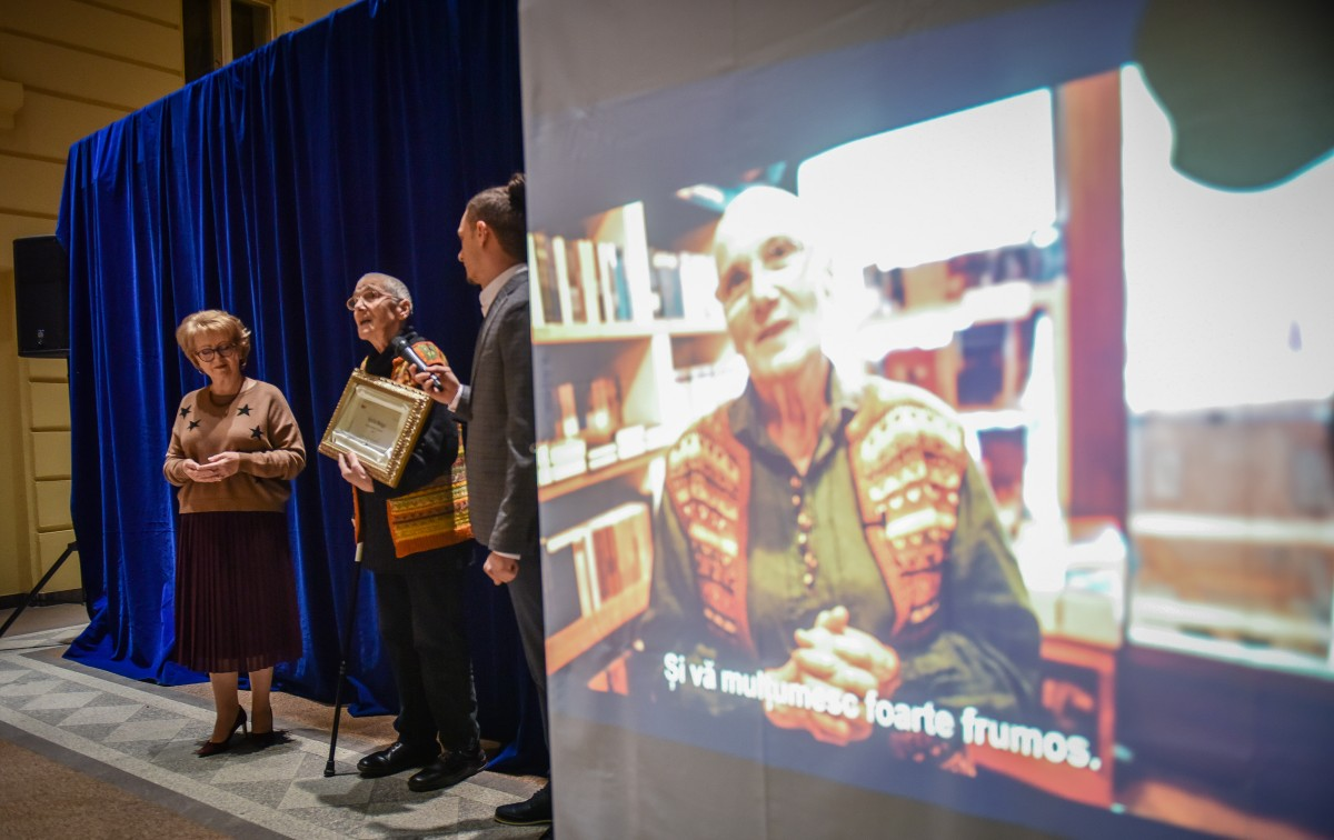 """FOTO. Maria Moga, noua Ambasadoare AIOS a Sibiului: """"I-am iubit pe toți oamenii care au trecut pragul librăriei"""""""