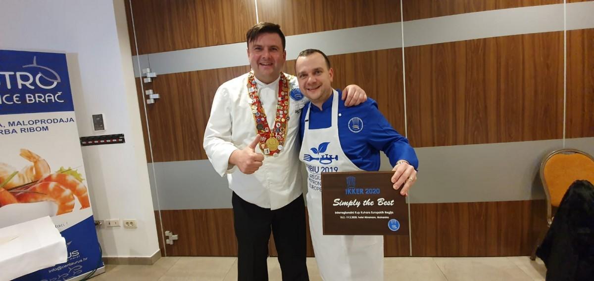 """Bucătarul sibian Marius Muntean premiat la Campionatul European de Gastronomie. """"Cel mai important premiu din cariera mea"""""""