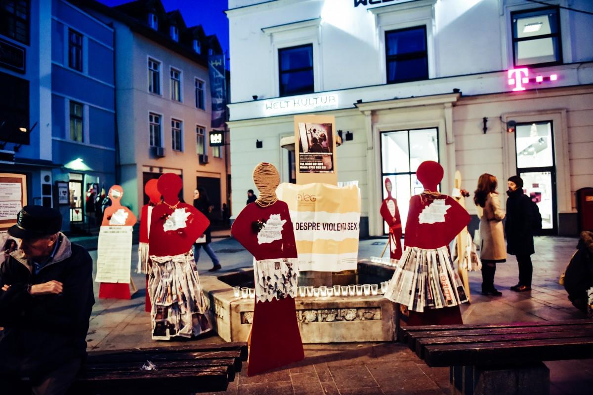 Martorele tăcute vorbesc din nou la Sibiu. Într-un an au fost emise 167 de ordine de protecție