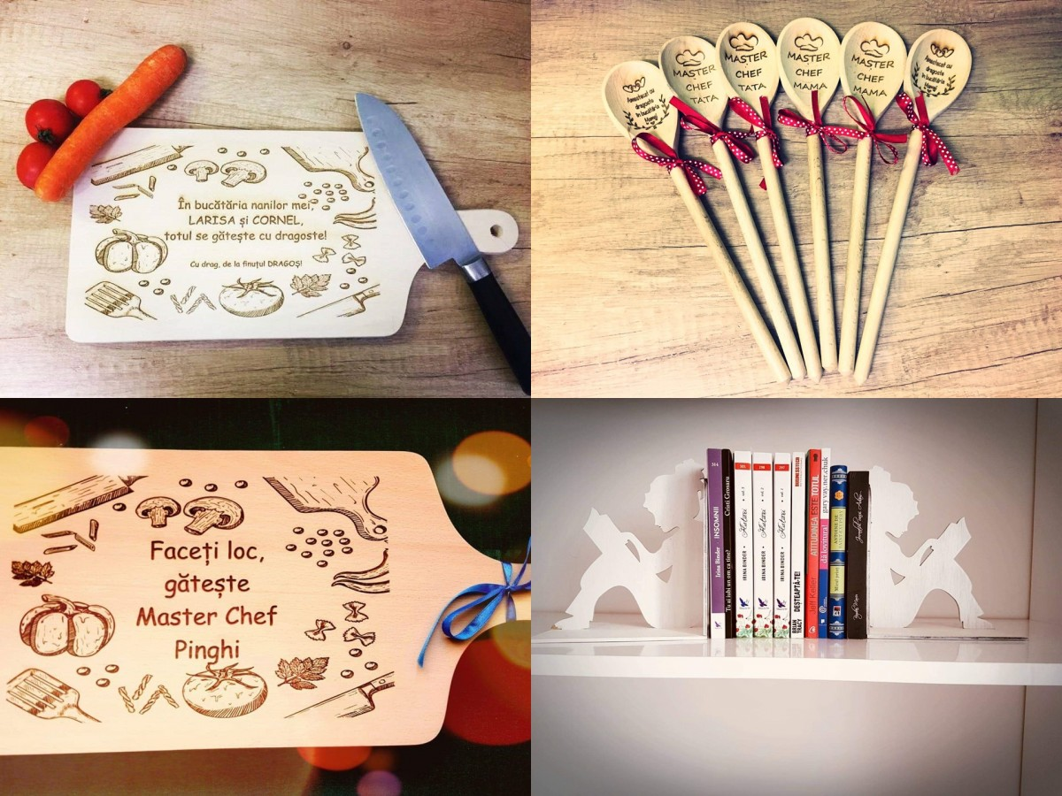 Micile afaceri: Obiecte din lemn, personalizate,cadou de sărbători pentru cei dragi