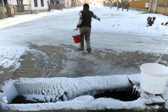 Meteorologii sibieni: mai ninge doar duminică, după care vine o vreme geroasă