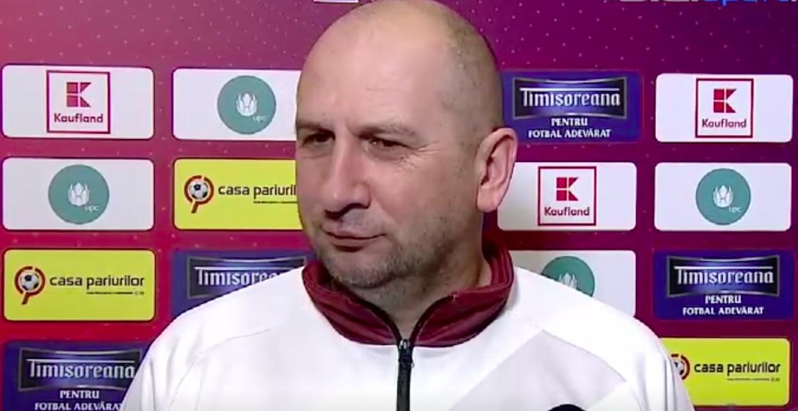 Miriuță înaintea meciului cu Târgoviște: Am dat șanse tuturor jucătorilor din lot. S-a terminat cu experimentele!