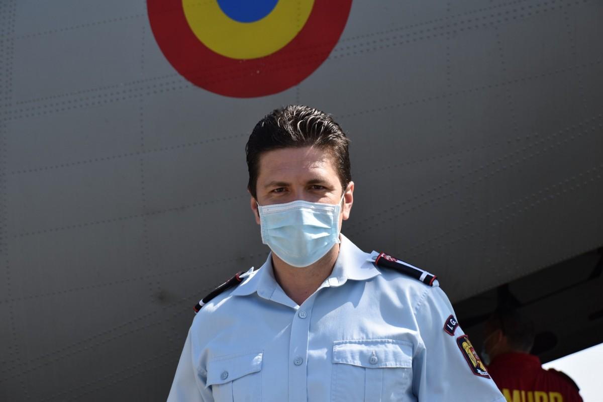 """Ofițerul ISU Sibiu s-a întors din misiunea medicală din Italia. """"Acest război poate fi câștigat"""""""