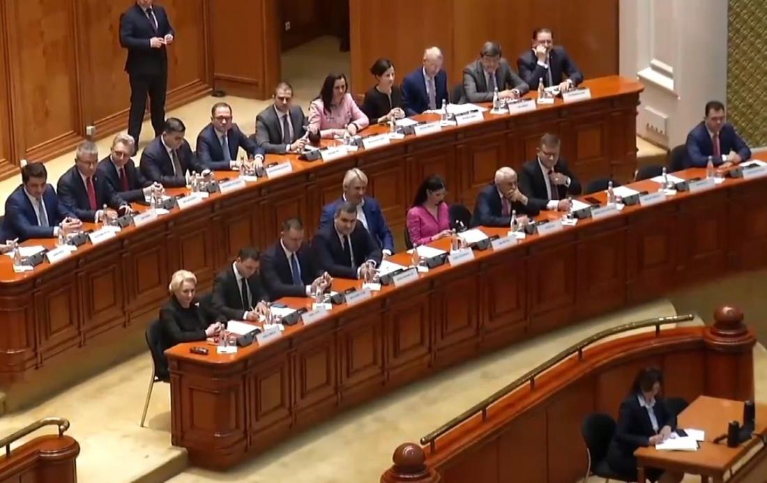 Guvernul Dăncilă a picat. Moțiunea a fost votată de238 de parlamentari