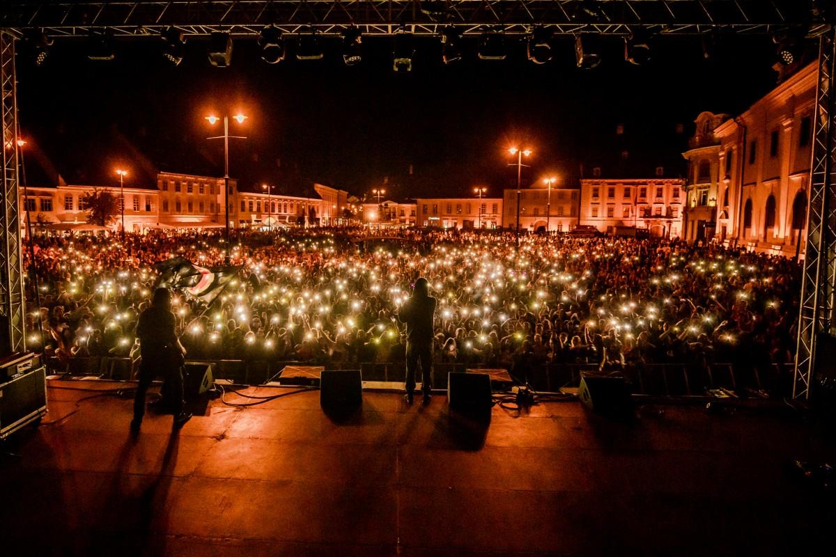 FOTO - Sibiu Music Fest a umplut din nou Piaţa Mare