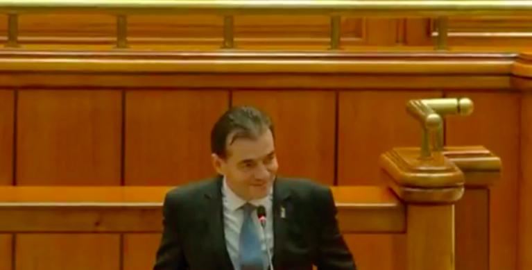 """România are un nou guvern, condus de liberalul Ludovic Orban: """"Guvernul este unul cu mandat limitat, maxim un an"""""""