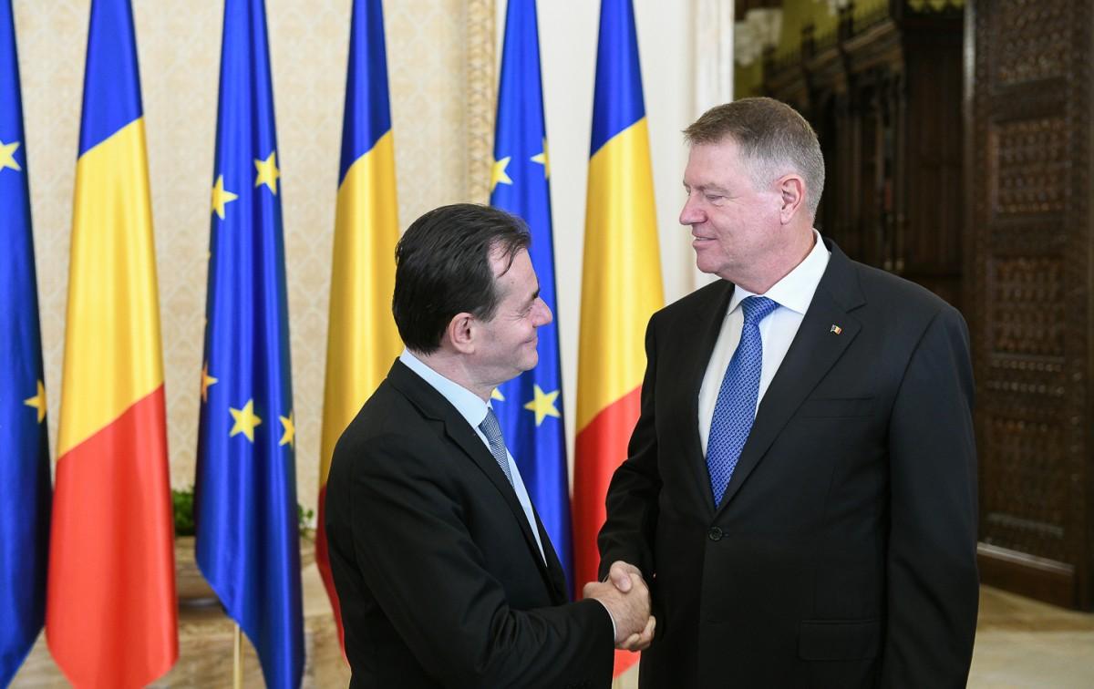Guvernul Orban a depus jurământul. Primele lucruri pe care le-a cerut Iohannis noului Executiv