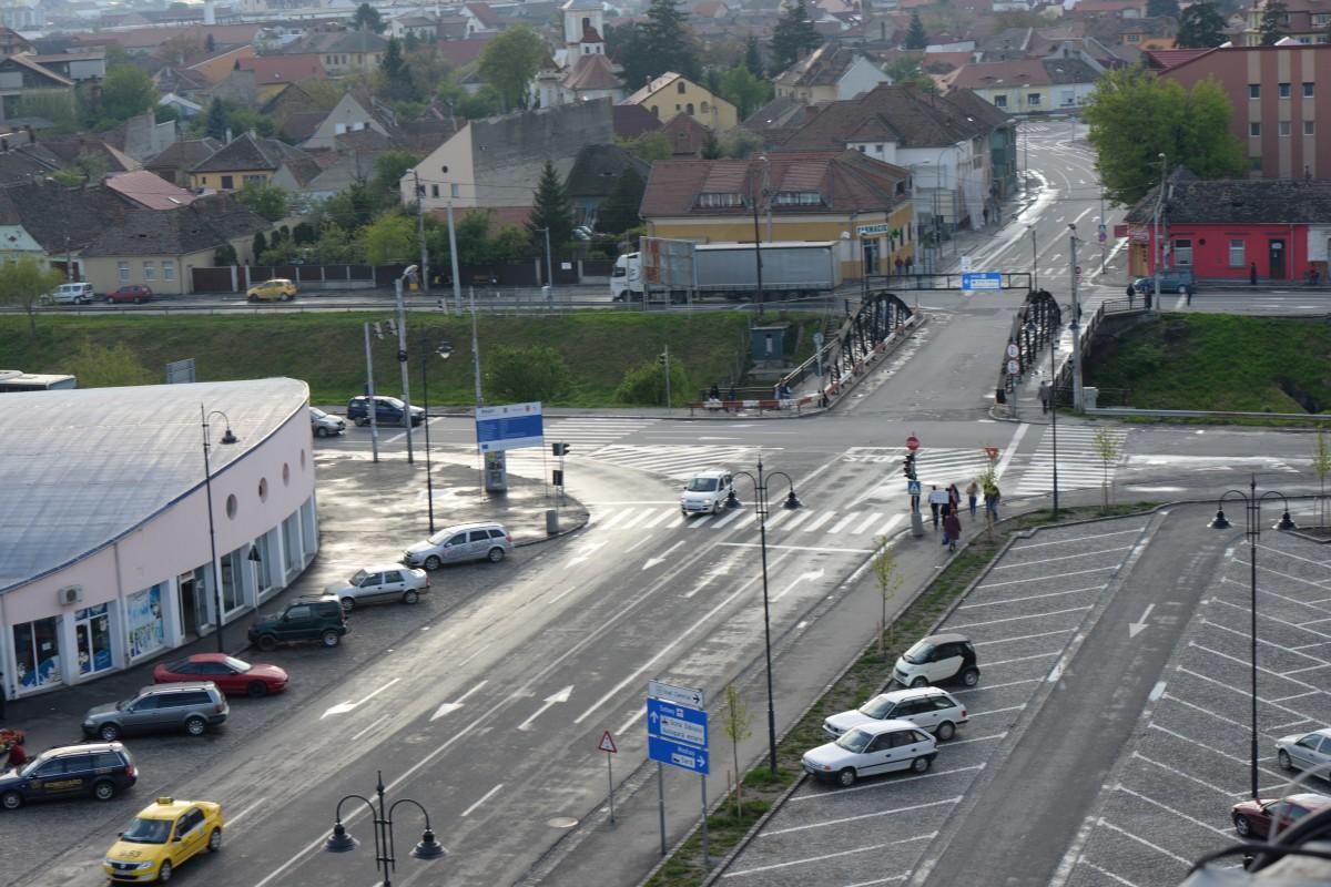 Parcările de 42 de mil. euro propuse în centrul Sibiului: trei subterane și una supraterană