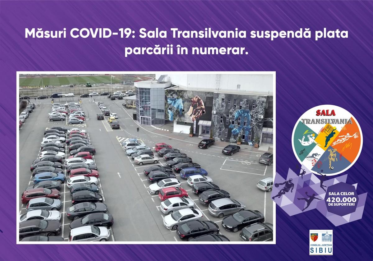 Măsuri preventive luate de Serviciul Public Sala Transilvania în vederea limitării și prevenirii infecțiilor cu COVID-19