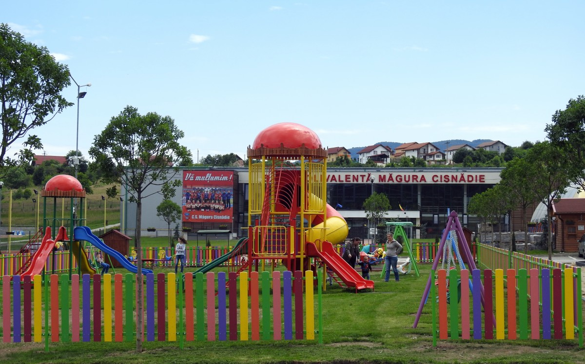 Primăria Cisnădie amenajează două spații de recreere în Cartierul Arhitecților, pe terenuri oferite de un dezvoltator imobiliar
