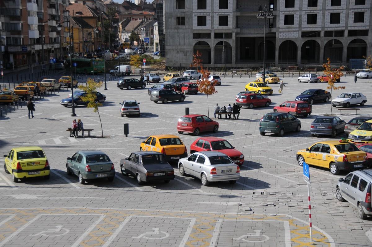 Primăria Sibiu licitează pentru a treia oară proiectarea primei parcări subterane a orașului