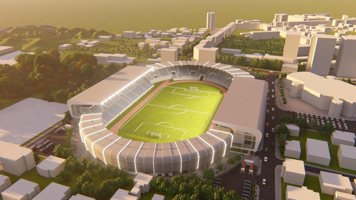 Primăria Sibiu inițiază a treia etapă de modernizare a Stadionului Municipal