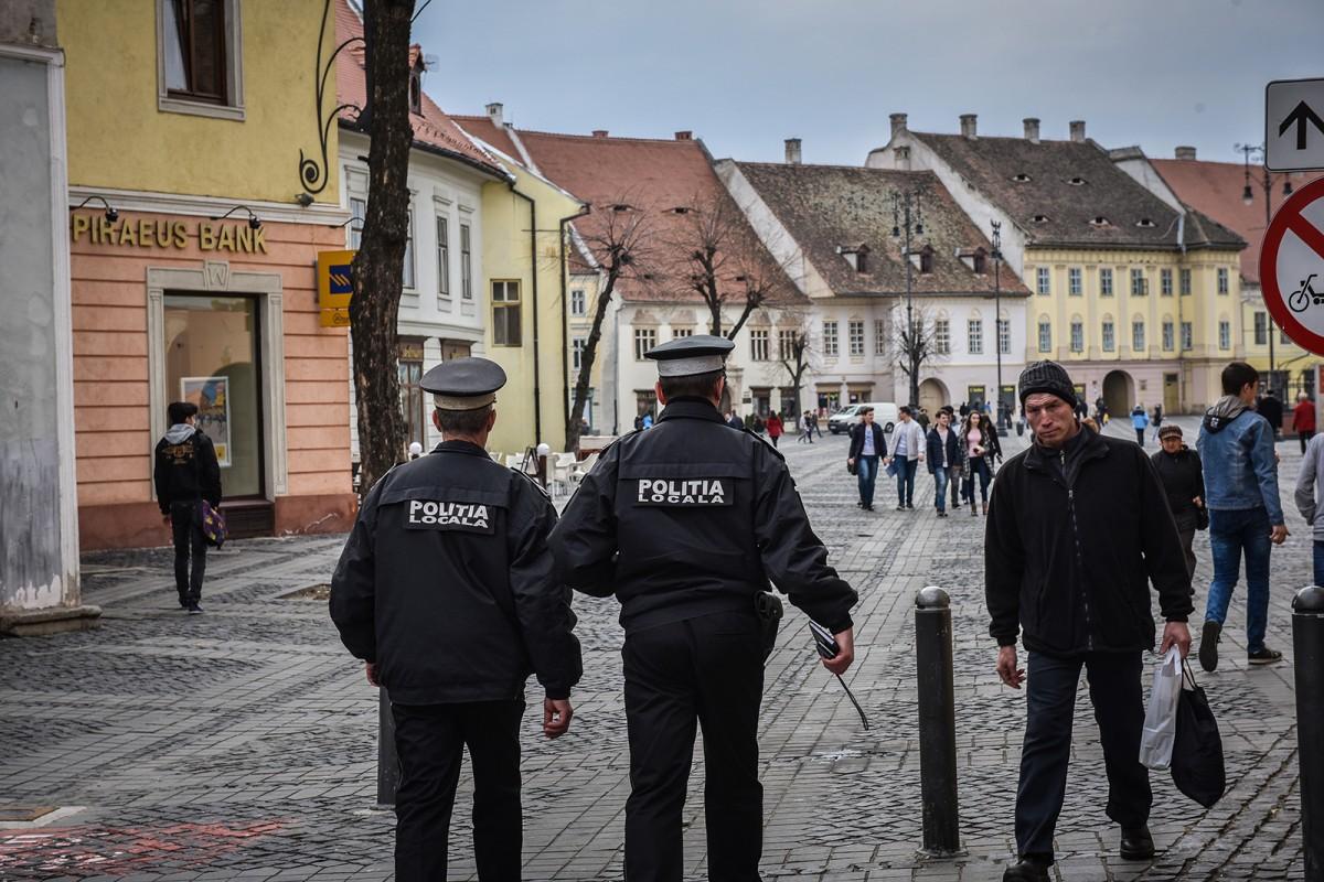 Infractori prinși de Poliția Locală Sibiu