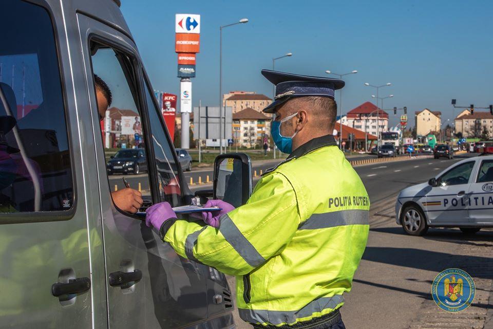 Poliția anunță că nu există normă de amenzi pentru încălcarea restricțiilor