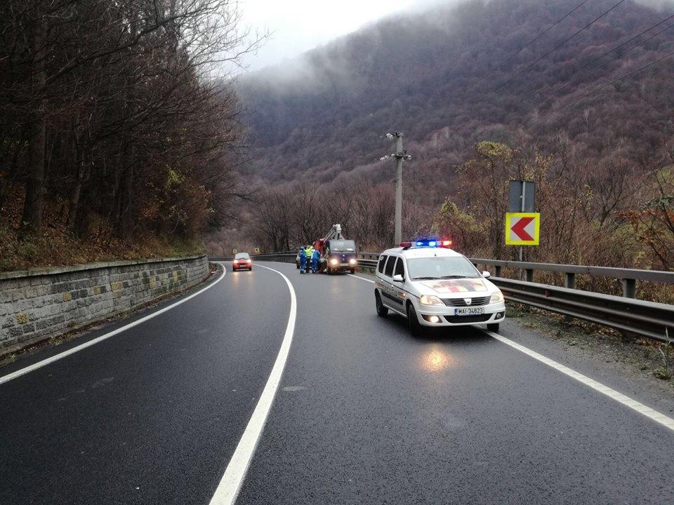 Șoferii vor avea restricții de trafic pe Valea Oltului, până vineri