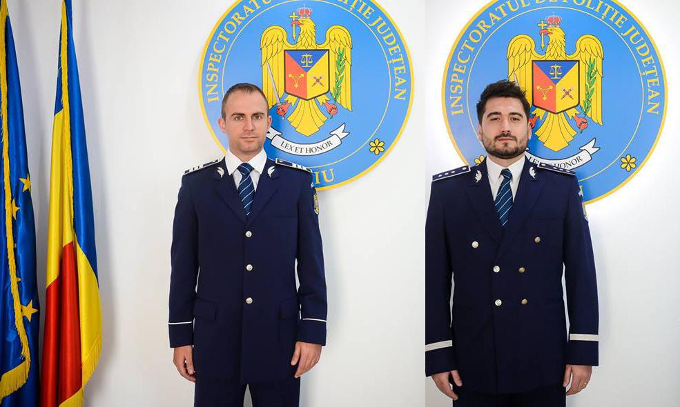 Cum e viața în Sibiu? Interviu cu polițiștii anului 2018