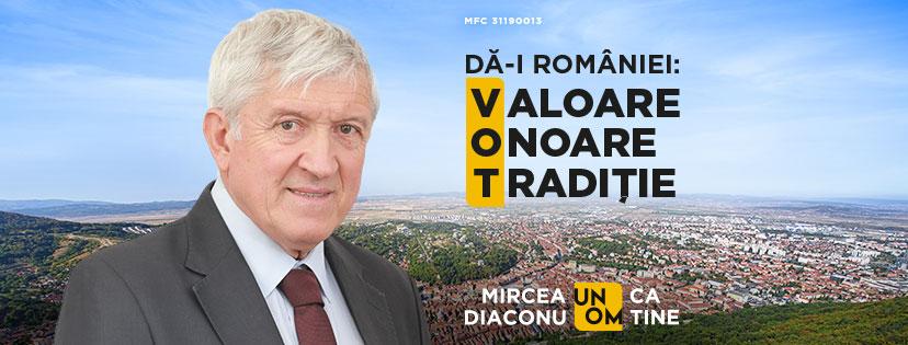 Mircea Diaconu: Promovarea mândriei de a fi român, un obiectiv al statului și al societății civile