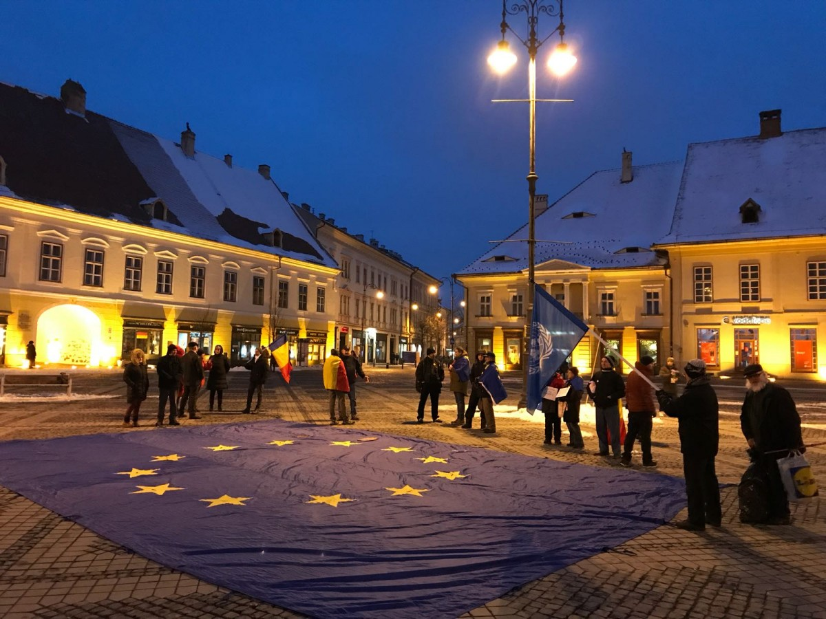 Relația Sibiu – UE: câte 3.500 de lei pentru fiecare sibian, în ultimii 13 ani