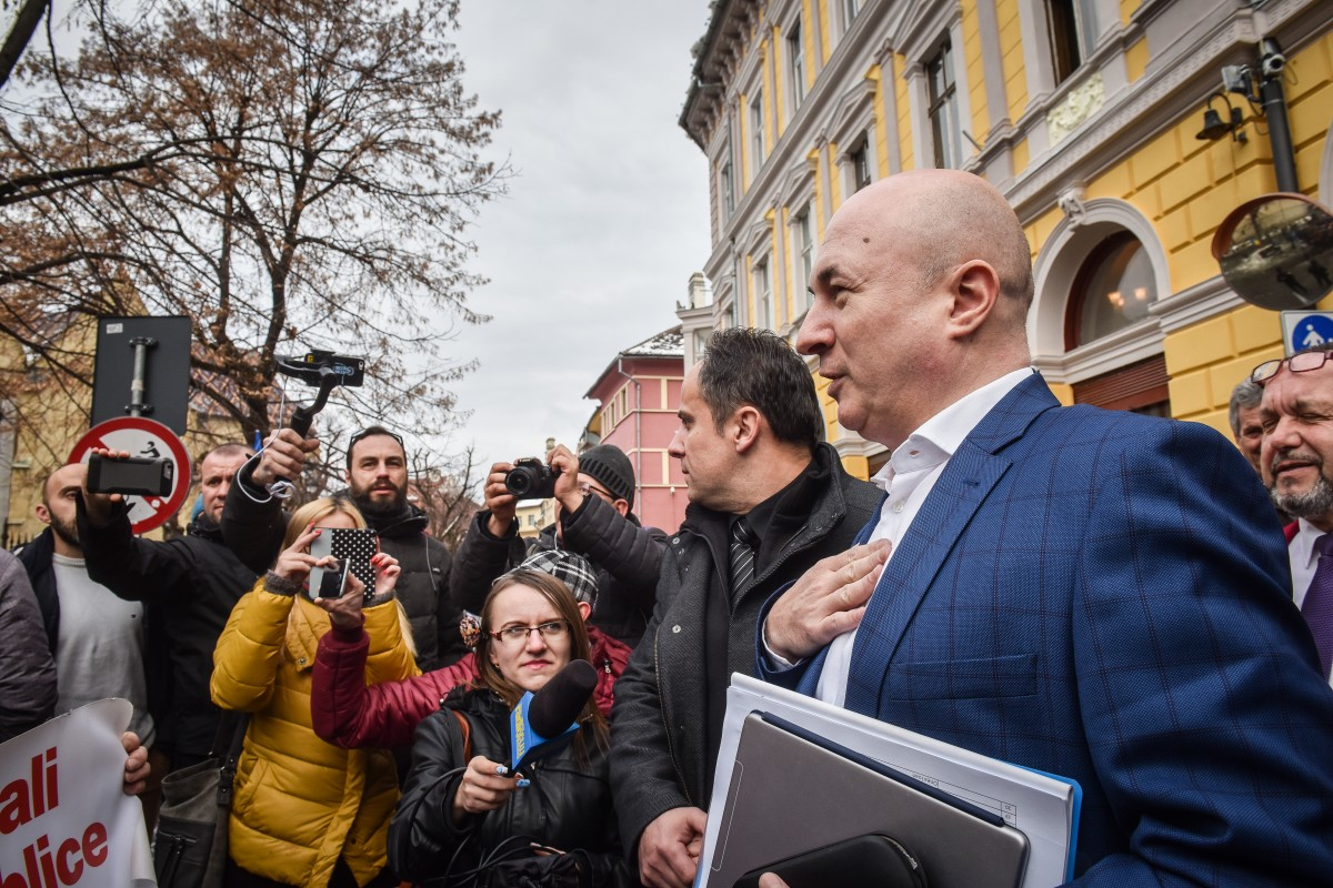 """Șefii PSD, în ședință la Sibiu. Ștefănescu: """"Singura speranță a sibienilor e ca partidul nostru să câștige și alegerile locale"""""""