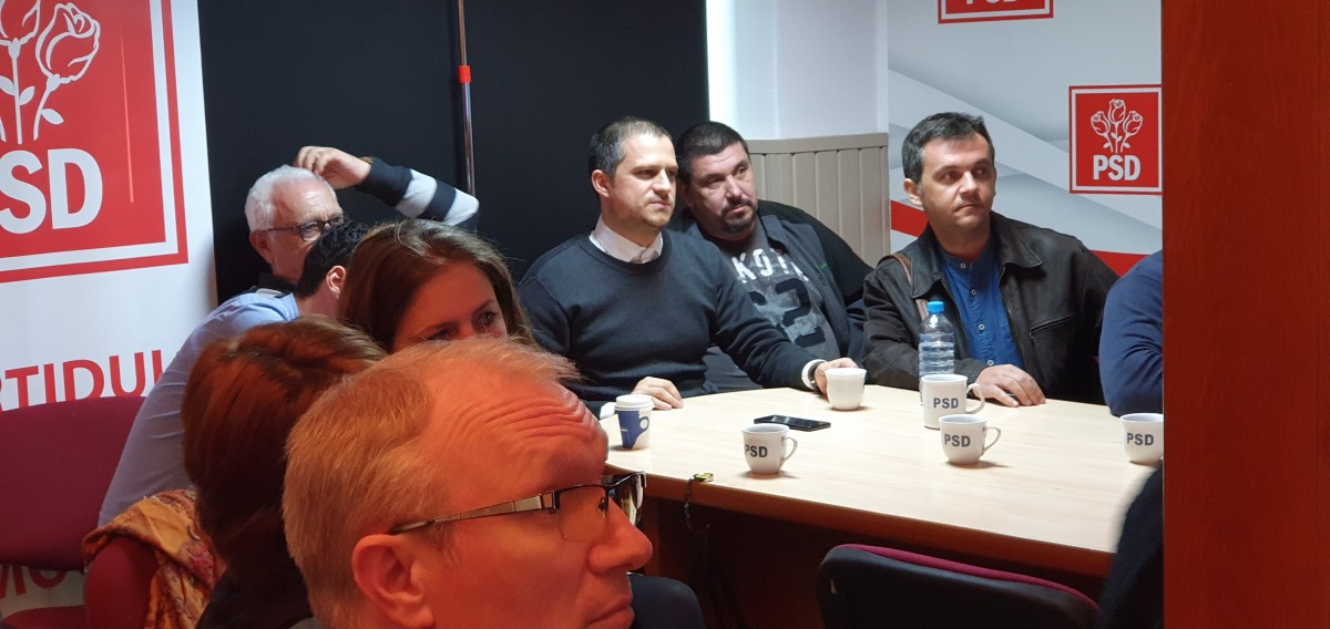 PSD Sibiu a doborât recordul de la europarlamentare. Au scăzut sub 20.000 de voturi