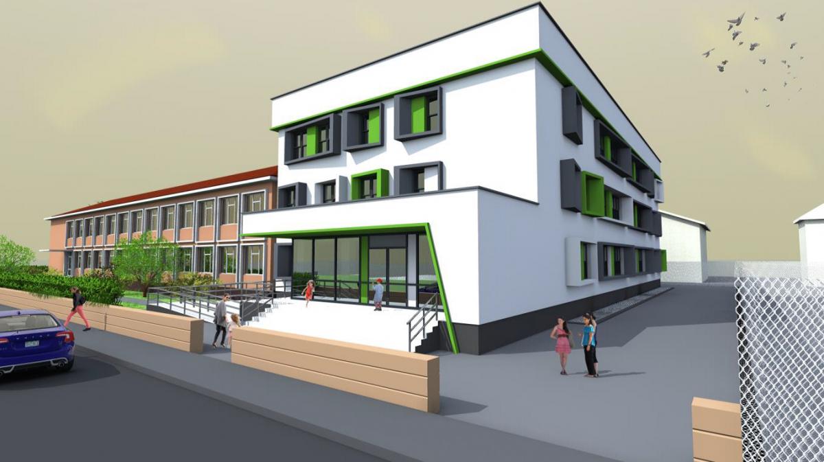Școala I.L. Caragiale se extinde