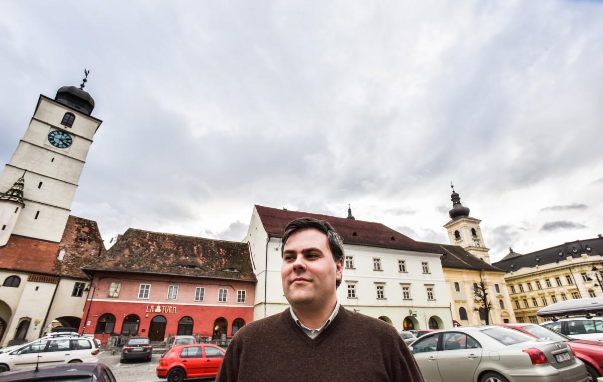 Interviu Răzvan Pop: Vreau ca proiectele primarului Iohannis să fie duse în continuare