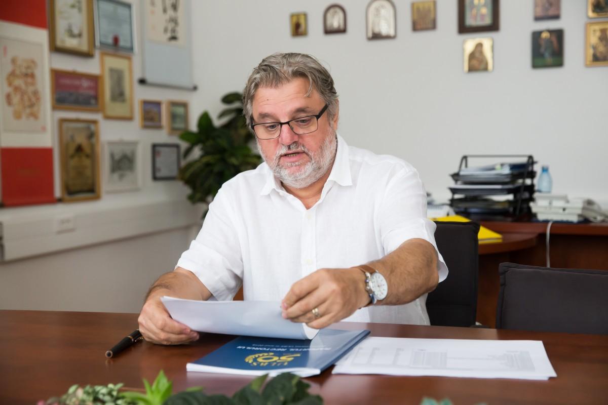 Rectorul ULBS, despre prezențainstituției întop 300 universitățidin Europa de Est și Asia