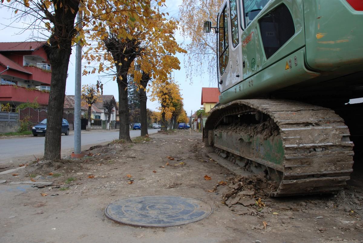 Peste 20 de șantiere deschise în Sibiu pentru investiții publice