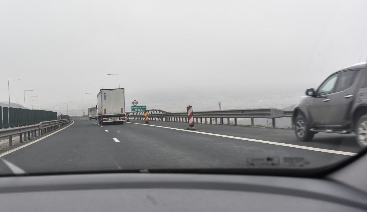Trafic restricționat pe A1 pentru efectuarea de lucrări