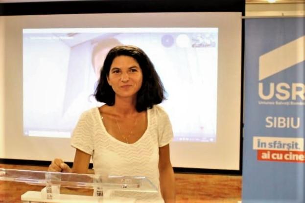 USR PLUS are candidat la Primăria Cisnădie: Rodica Velțan