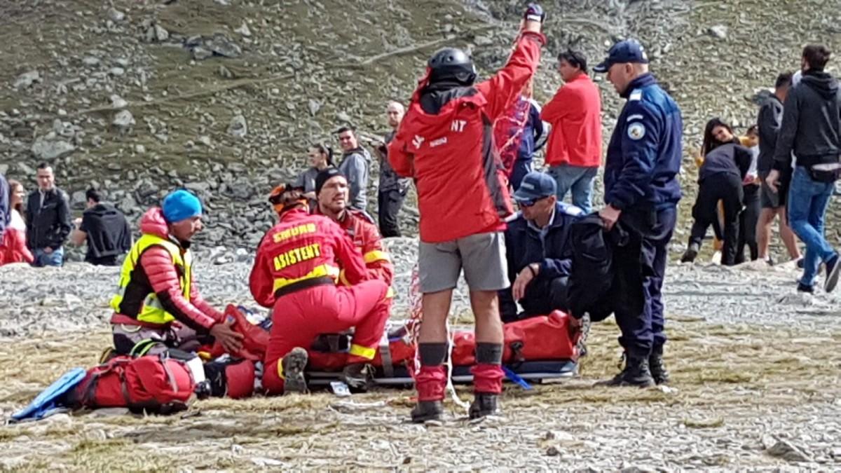 Turist în stare gravă în Făgăraș: este solicitat elicopterul SMURD