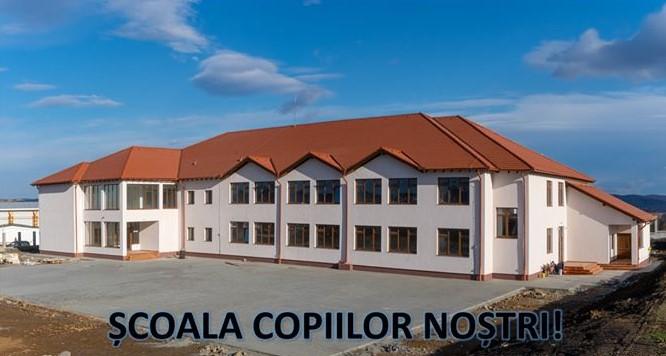 Școală ridicată de la zero în Sura Mică cu o investiție de 8 milioane de lei