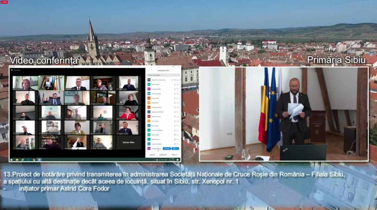 Legile Sibiului, votate de acasă